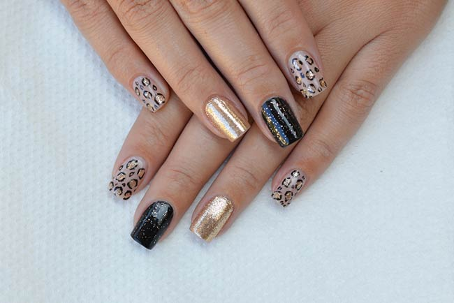 Why Matte Black Nail Arts Is Ruling Young Girls Mind