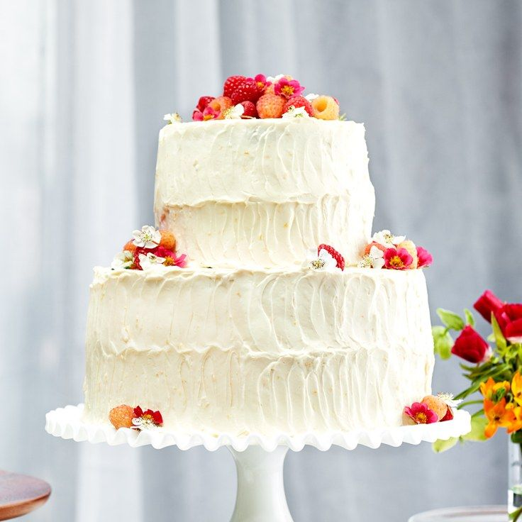 Now You Can Make A Highly Delectable Vanilla Buttermilk Cake At Your Home