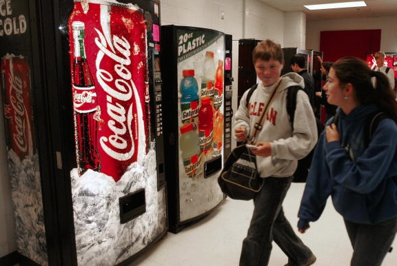 Vending Machine Law Leaves Snack Free Schools Hungry For Money